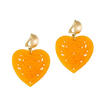 Herzen orange