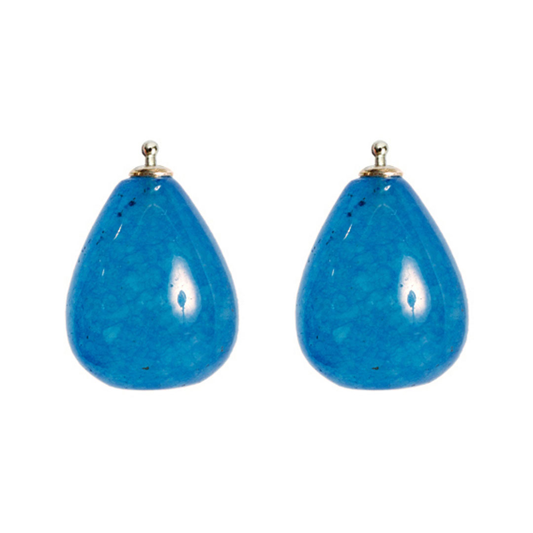 Jadetropfen blau
