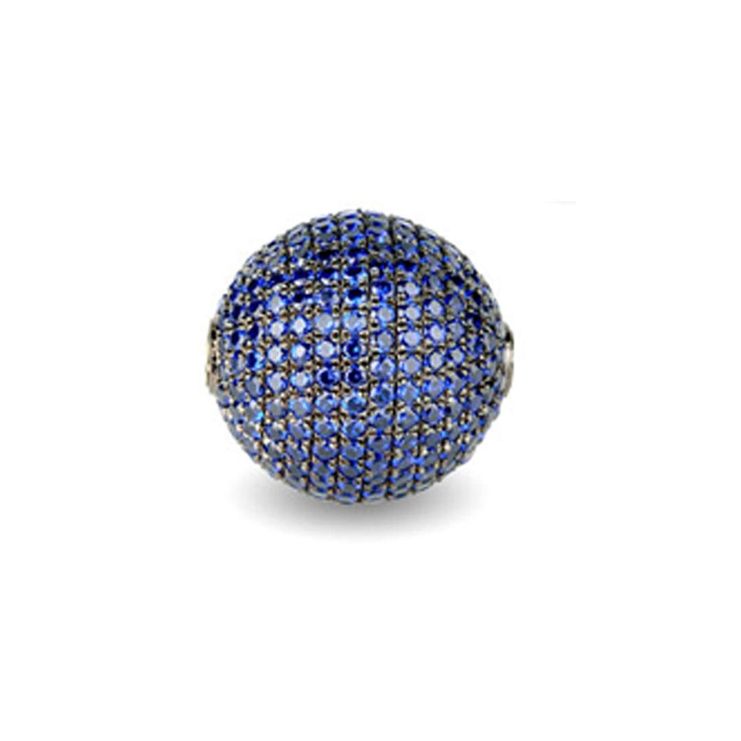 Wechselschliesse kugel blau
