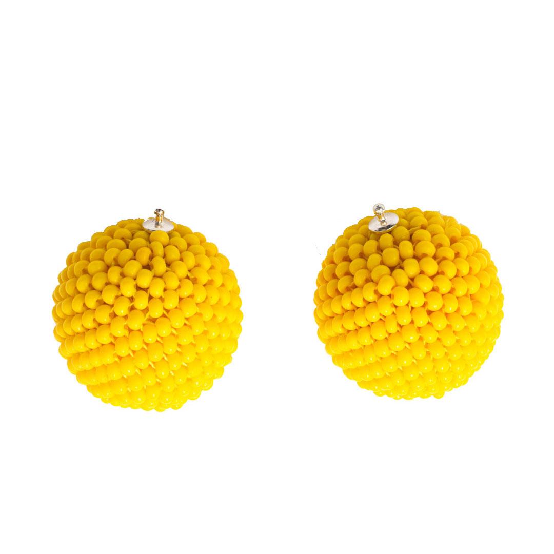 Einhaenger kugeln gelb