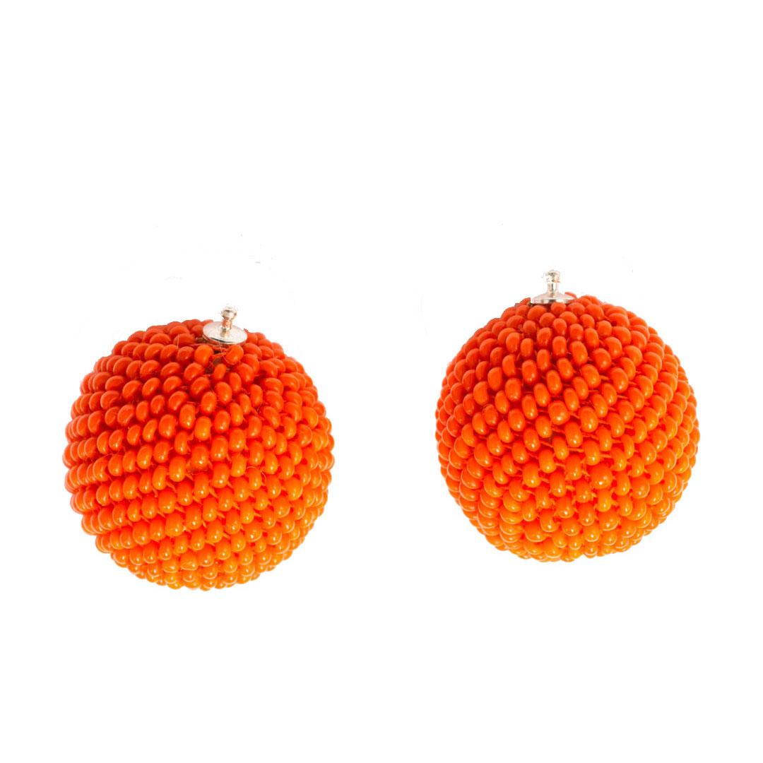 Einhaenger kugeln orange