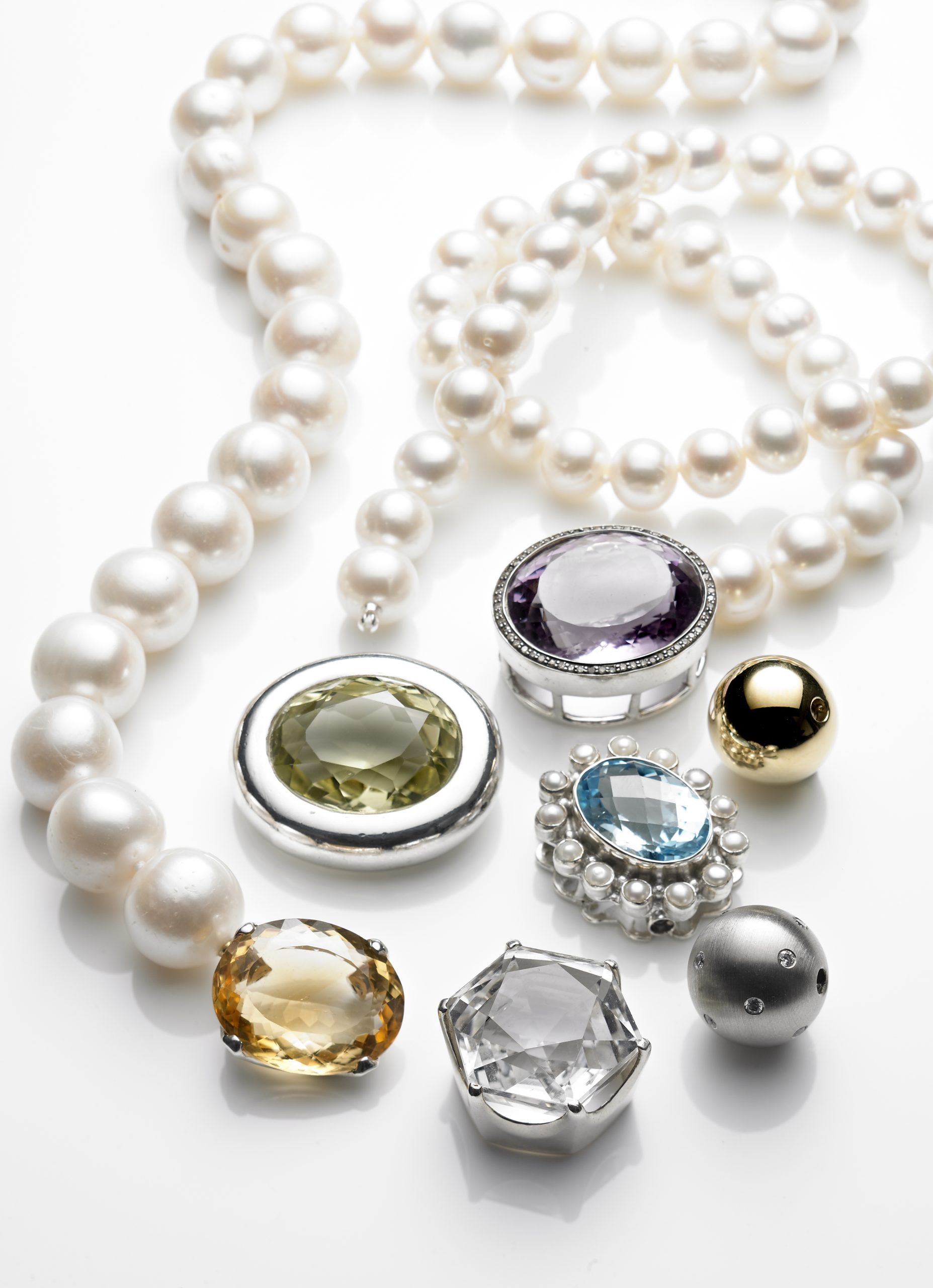 Perlenketten mit wechselschließen