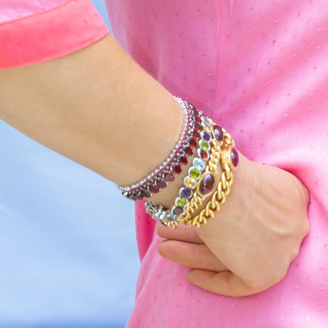 Armband edelsteine